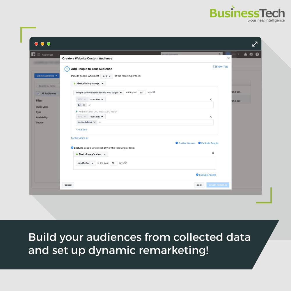 module - Produkte in Facebook & sozialen Netzwerken - Facebook Dynamic Ads + Pixel & Shops - 10