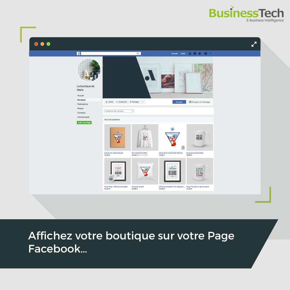 module - Remarketing & Paniers Abandonnés - Dynamic Ads + Pixel & Boutiques Facebook - 3