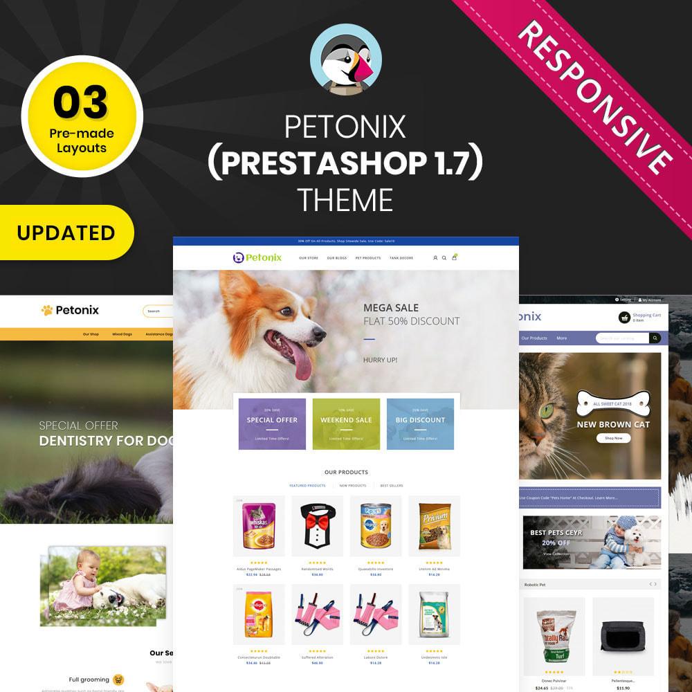 theme - Animales y Mascotas - Petonix tienda de animales - 1