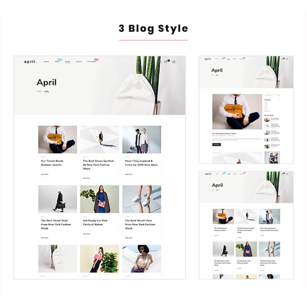 theme - Mode & Schuhe - April  Store eCommerce Bootstrap 4 - 6