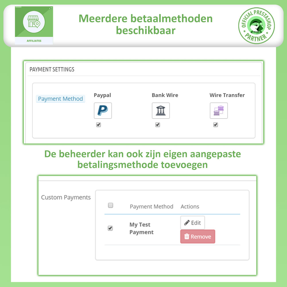 module - Betaalde vermelding & Lidmaatschap - Affiliates Pro, Affiliate & Referral Program - 13