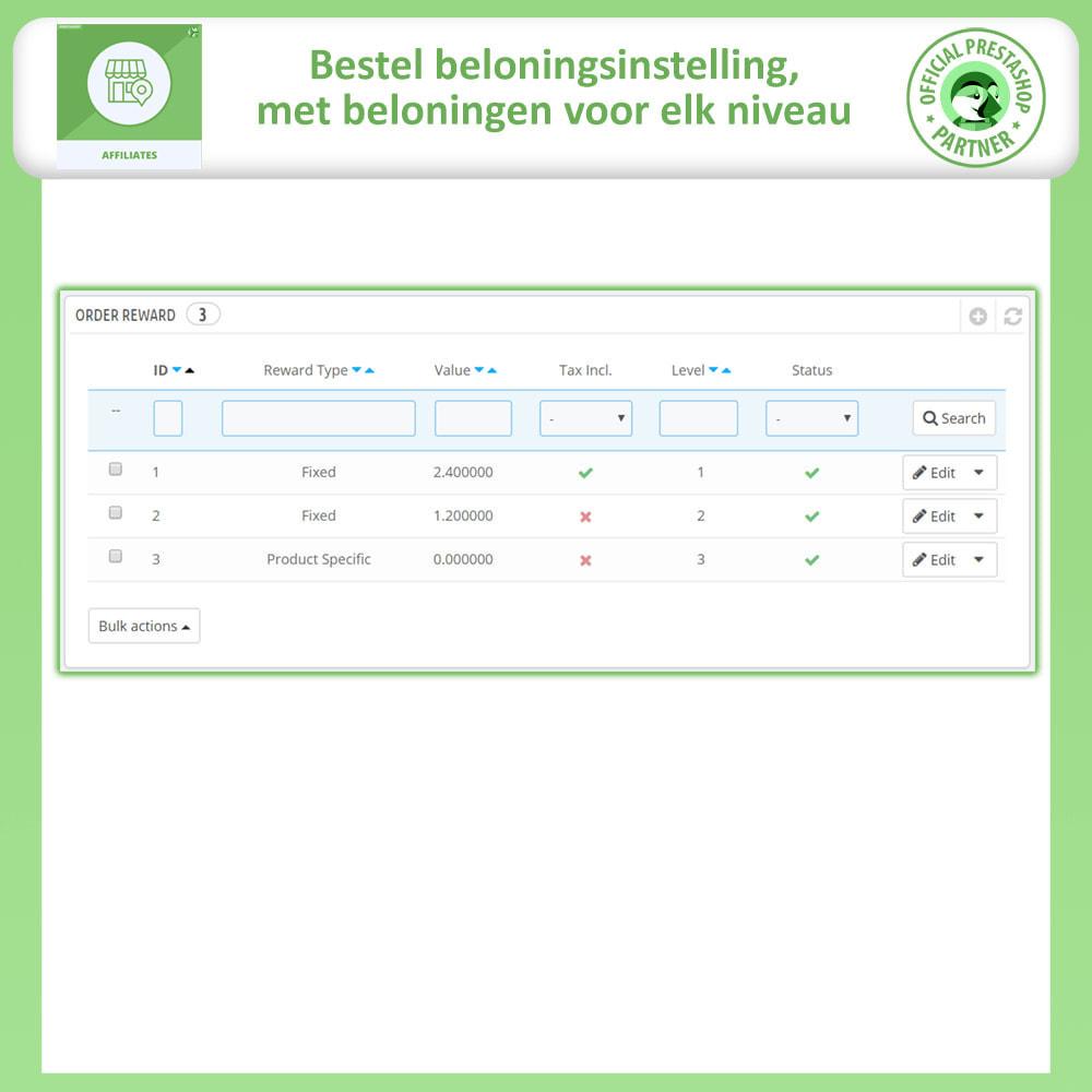 module - Betaalde vermelding & Lidmaatschap - Affiliates Pro, Affiliate & Referral Program - 17