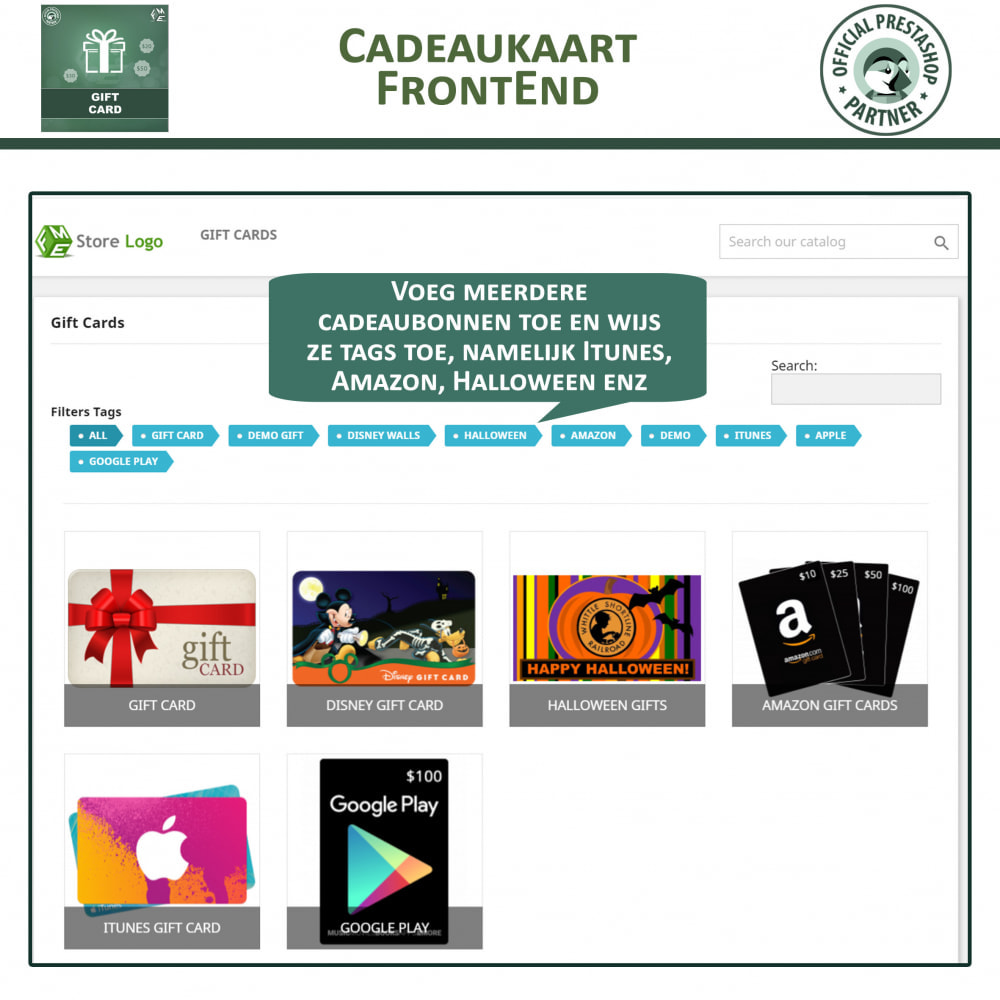 module - Verlanglijst & Cadeaubon - Cadeau Bon - 2
