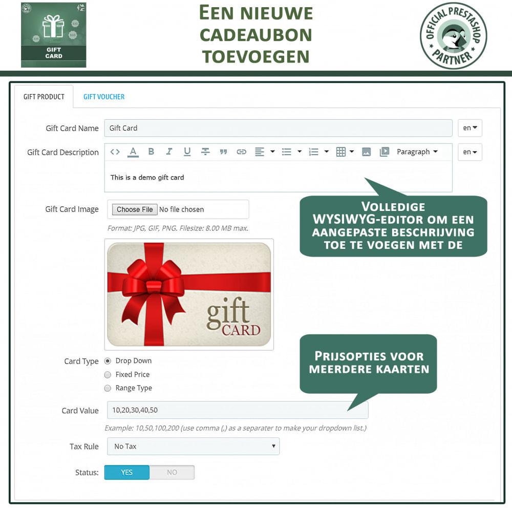 module - Verlanglijst & Cadeaubon - Cadeau Bon - 7