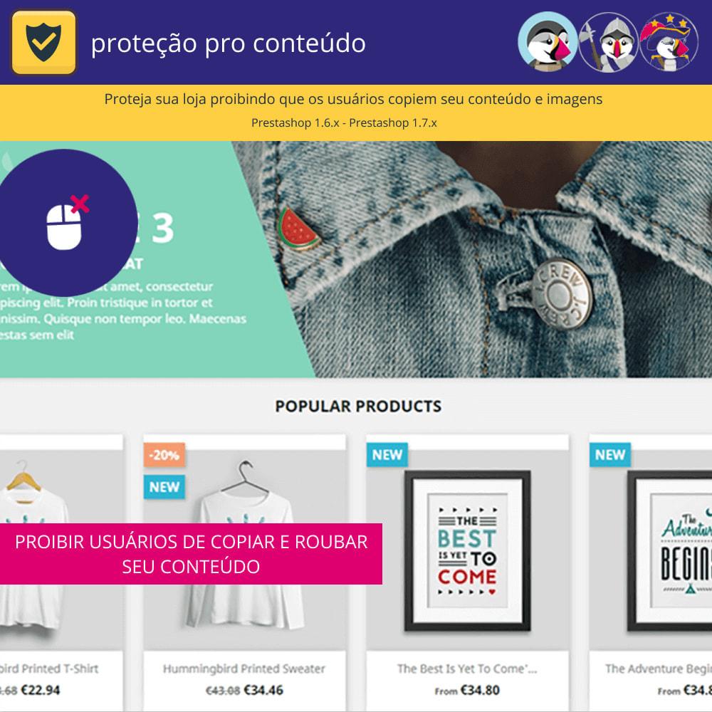 module - Segurança & Acesso - Proteção de conteúdo pro - proteja seu conteúdo - 2