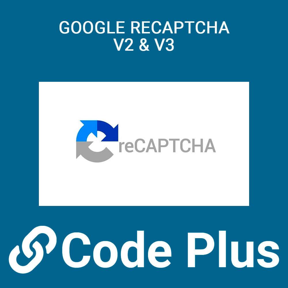 module - Seguridad y Accesos - Google Recaptcha para formularios - 1