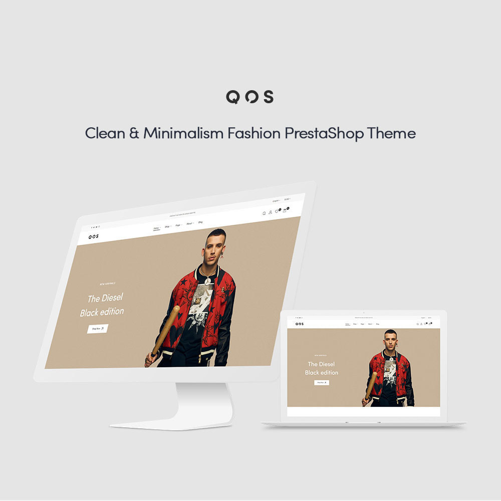 theme - Мода и обувь - Leo QOS Fashion Ecommerce - 1