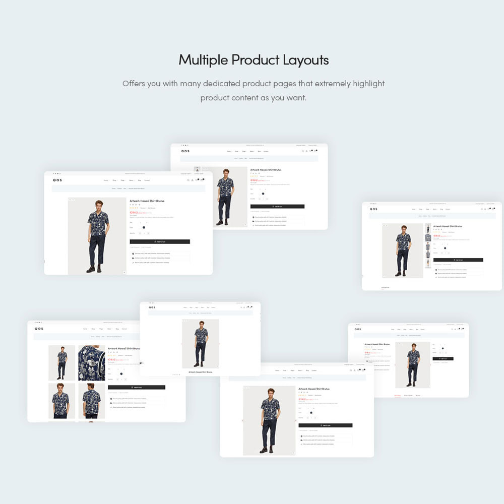 theme - Мода и обувь - Leo QOS Fashion Ecommerce - 7