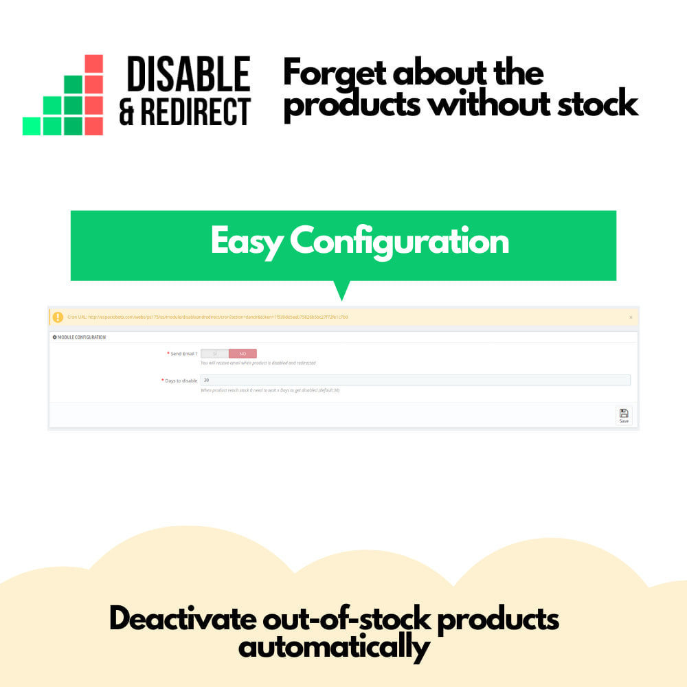 module - Stock & Supplier Management - Disable & Redirect - 3