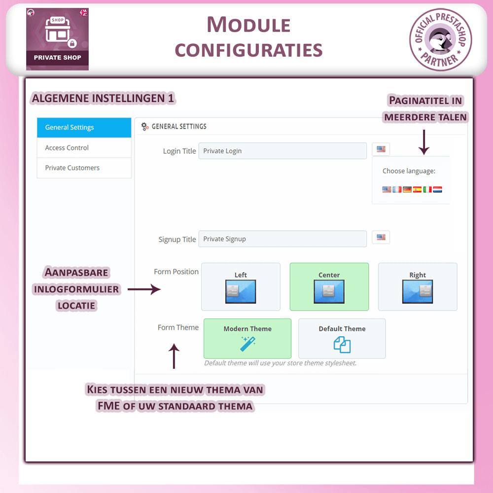 module - Uitverkoop & Besloten verkoop - Prive Winkel - Inloggen om producten te zien/Winkel - 15
