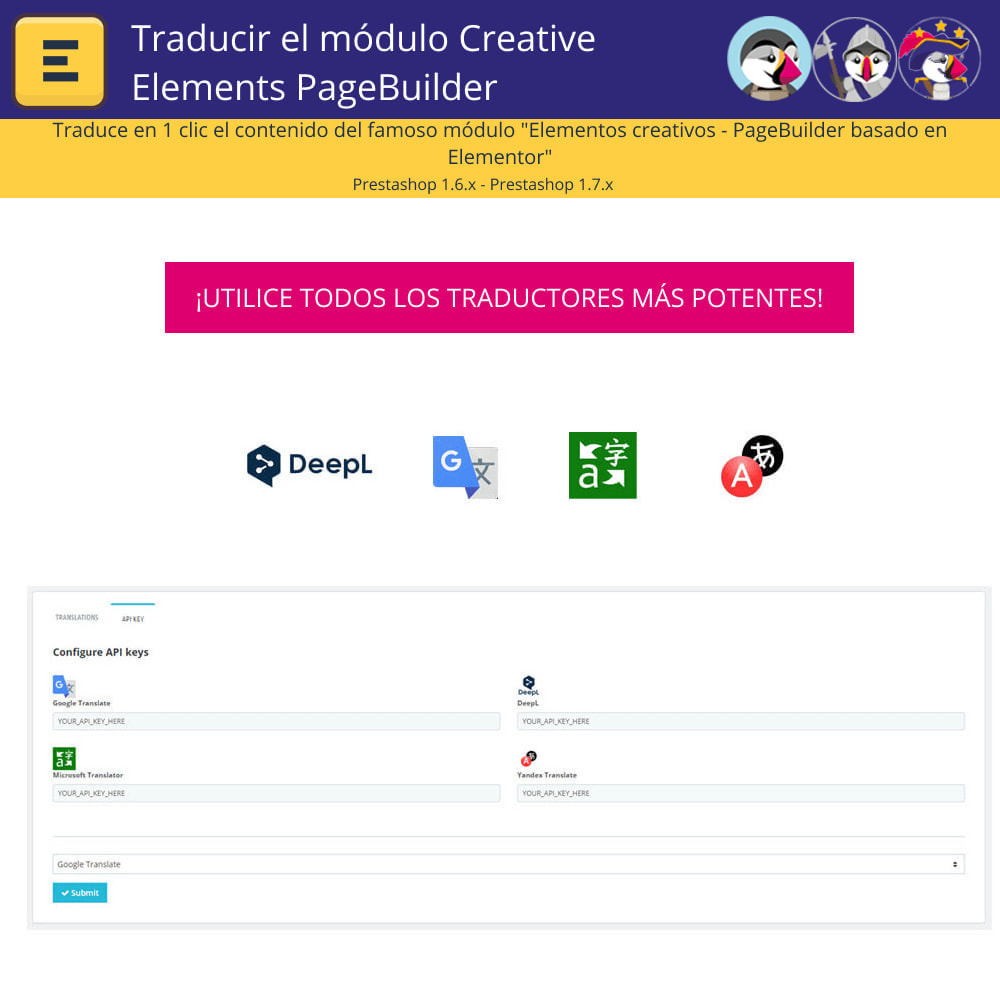 module - Internacionalización y Localización - Traducir el Creative Elements PageBuilder - 2
