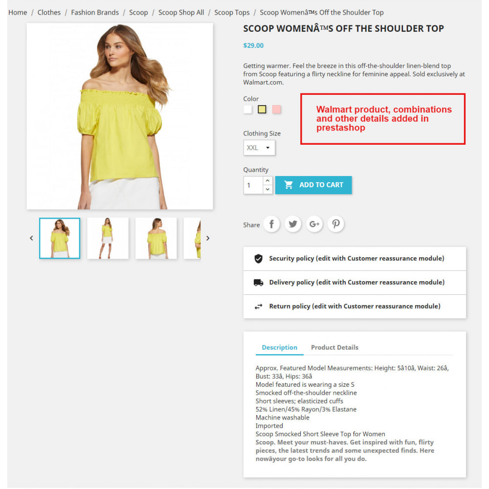module - Data Import & Export - Copy Products From Walmart   Import Products - 1