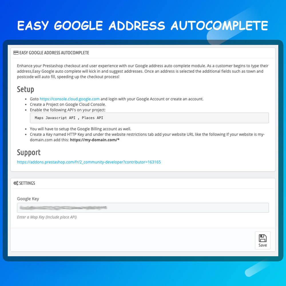 module - Registration & Ordering Process - Easy Google Address Autocomplete - 4