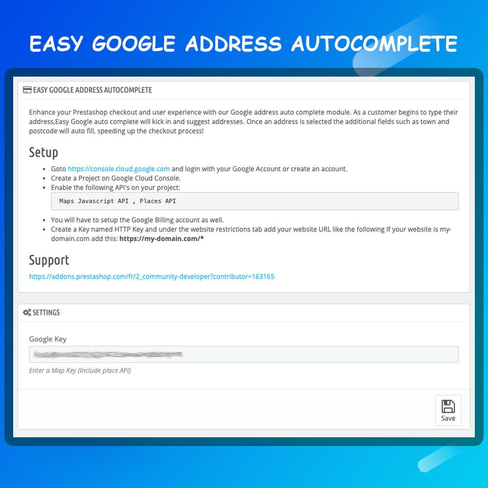 module - Registration & Ordering Process - Google address auto complete - 4
