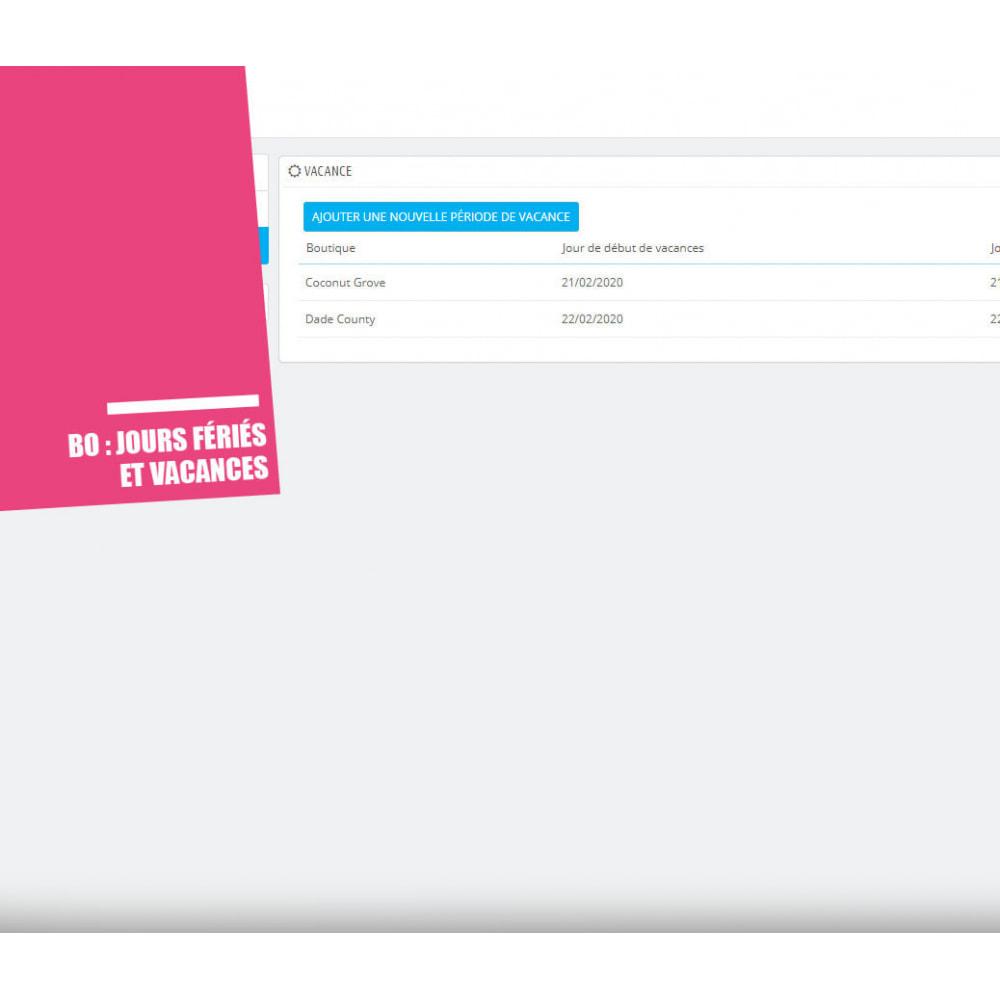 module - Point Relais & Retrait en Magasin - Drive et Click & Collect / Retrait magasin - 13