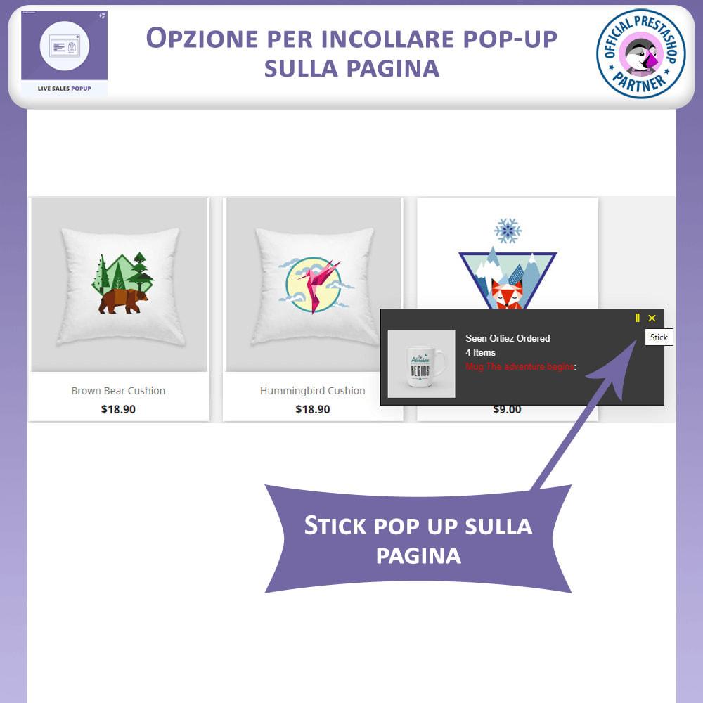 module - Pop-up - Popup Vendite Dal Vivo - 5