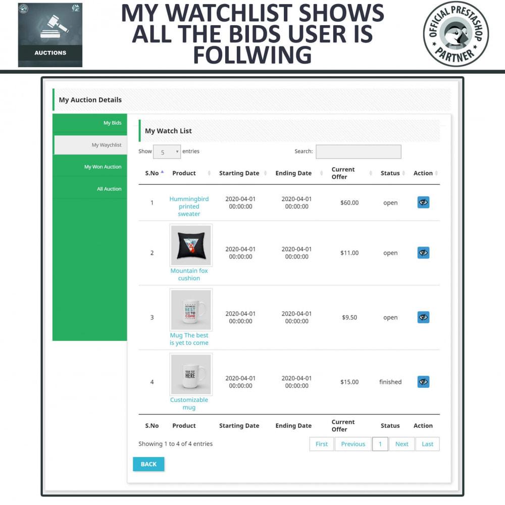 module - Criar um site de leilão - Auction Pro, Online Auctions & Bidding - 11