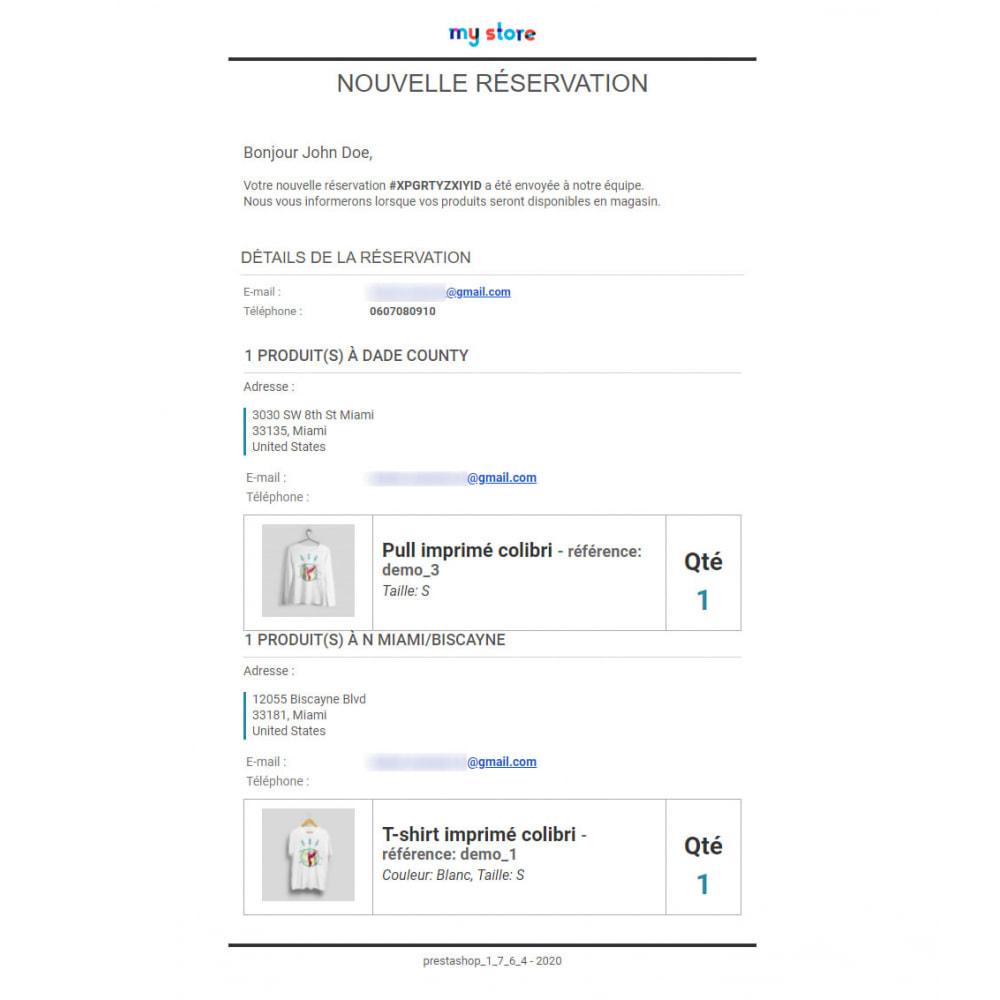 module - Gestion des Stocks & des Fournisseurs - Click & Collect Advanced / E-Reservation - 5