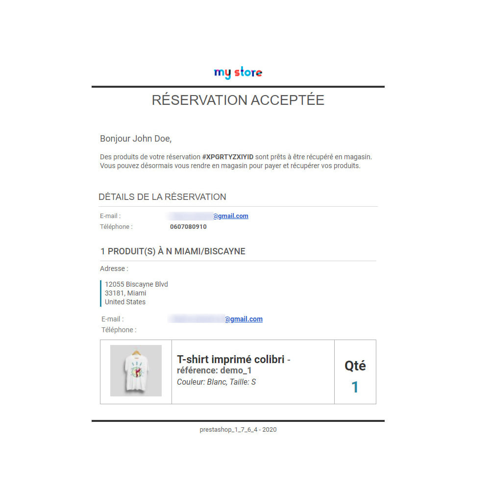 module - Gestion des Stocks & des Fournisseurs - Click & Collect Advanced / E-Reservation - 8