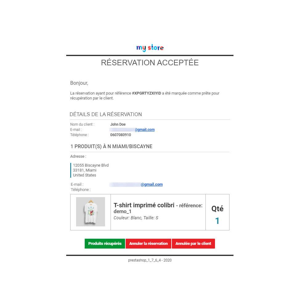 module - Gestion des Stocks & des Fournisseurs - Click & Collect Advanced / E-Reservation - 9