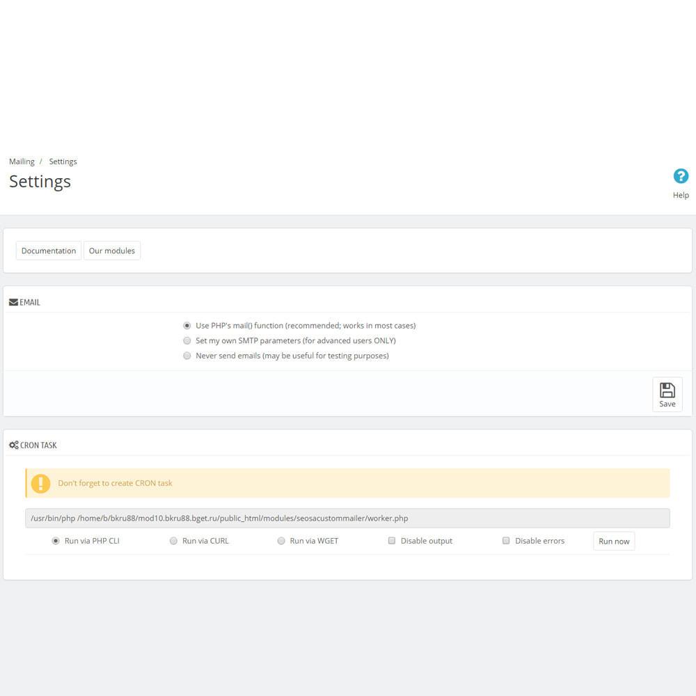 module - Nieuwsbrief & SMS - Custom Mailer SeoSA - newsletter - 20
