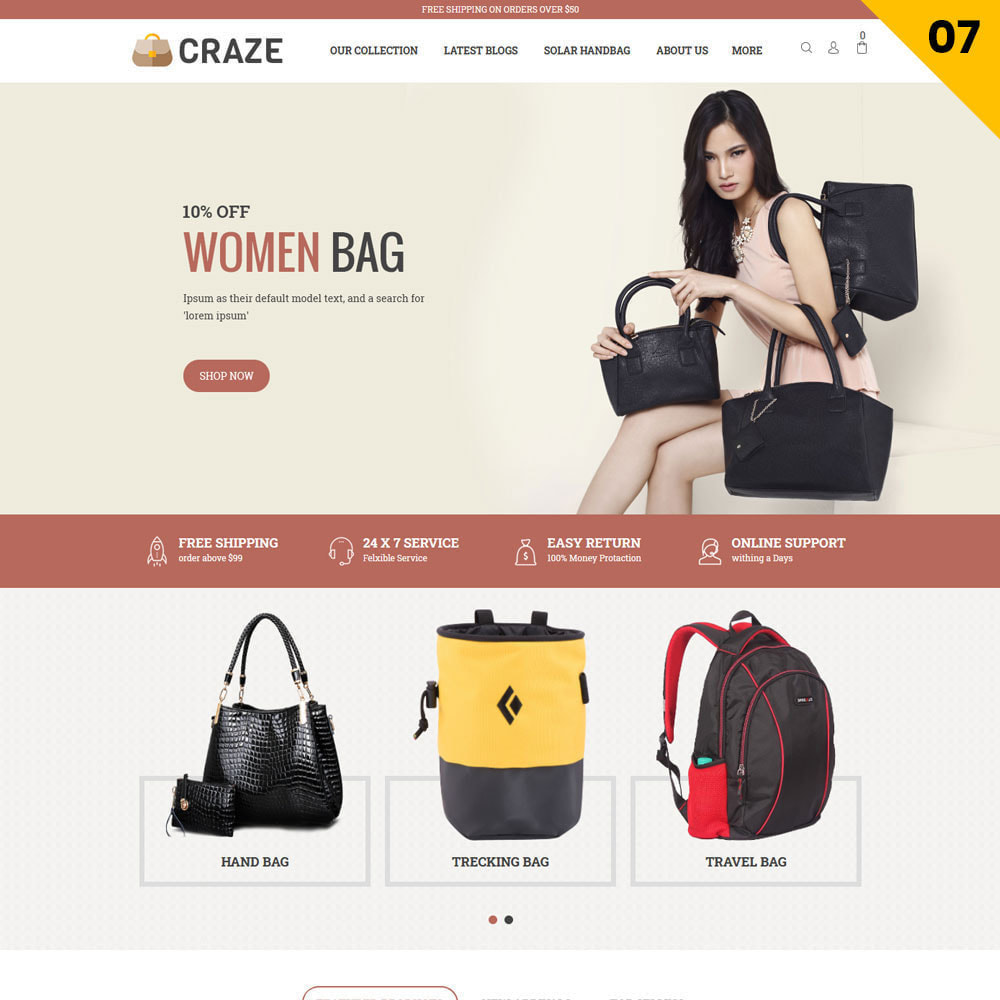 theme - Fashion & Shoes - Craze - The Multipurpose Online Store - 9