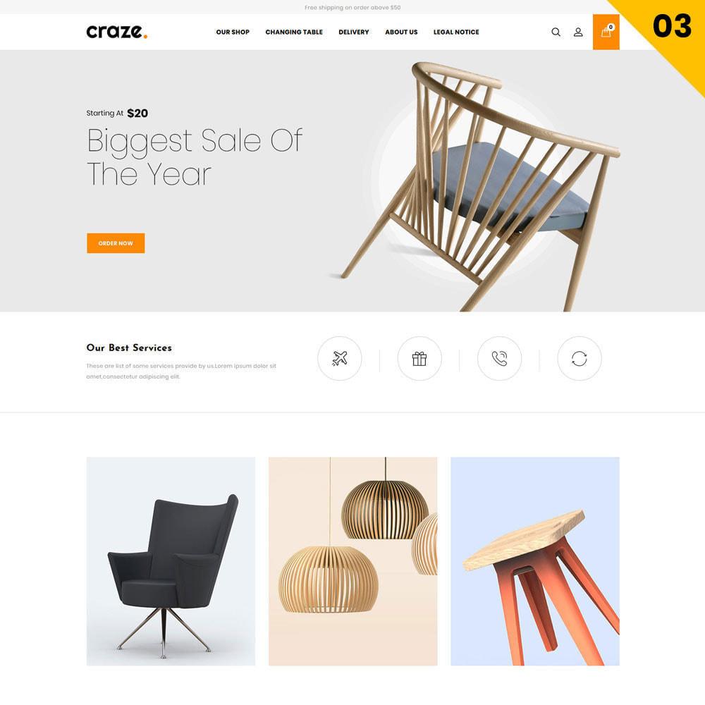 theme - Moda y Calzado - Craze - La tienda en línea multipropósito - 6