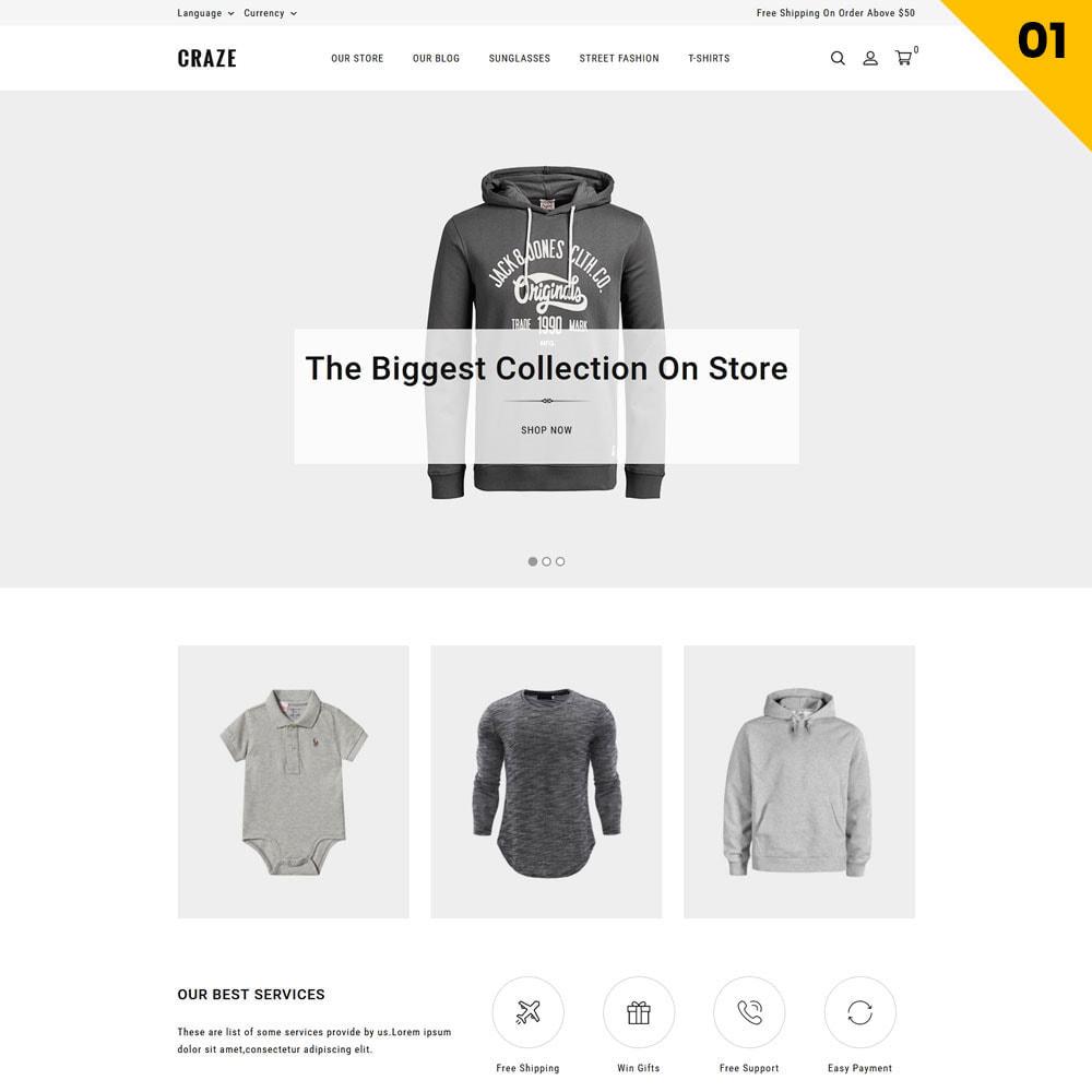 theme - Moda & Calzature - Craze - Il negozio online multiuso - 4