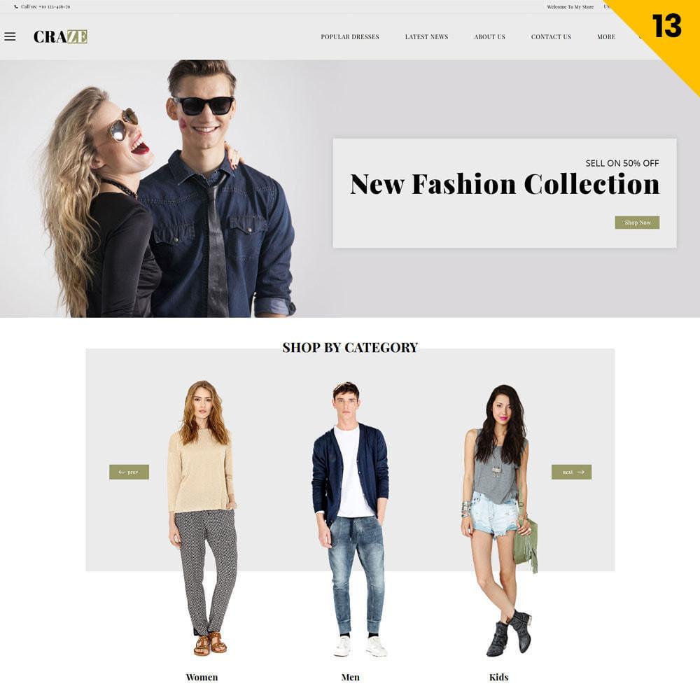 theme - Moda & Calzature - Craze - Il negozio online multiuso - 16
