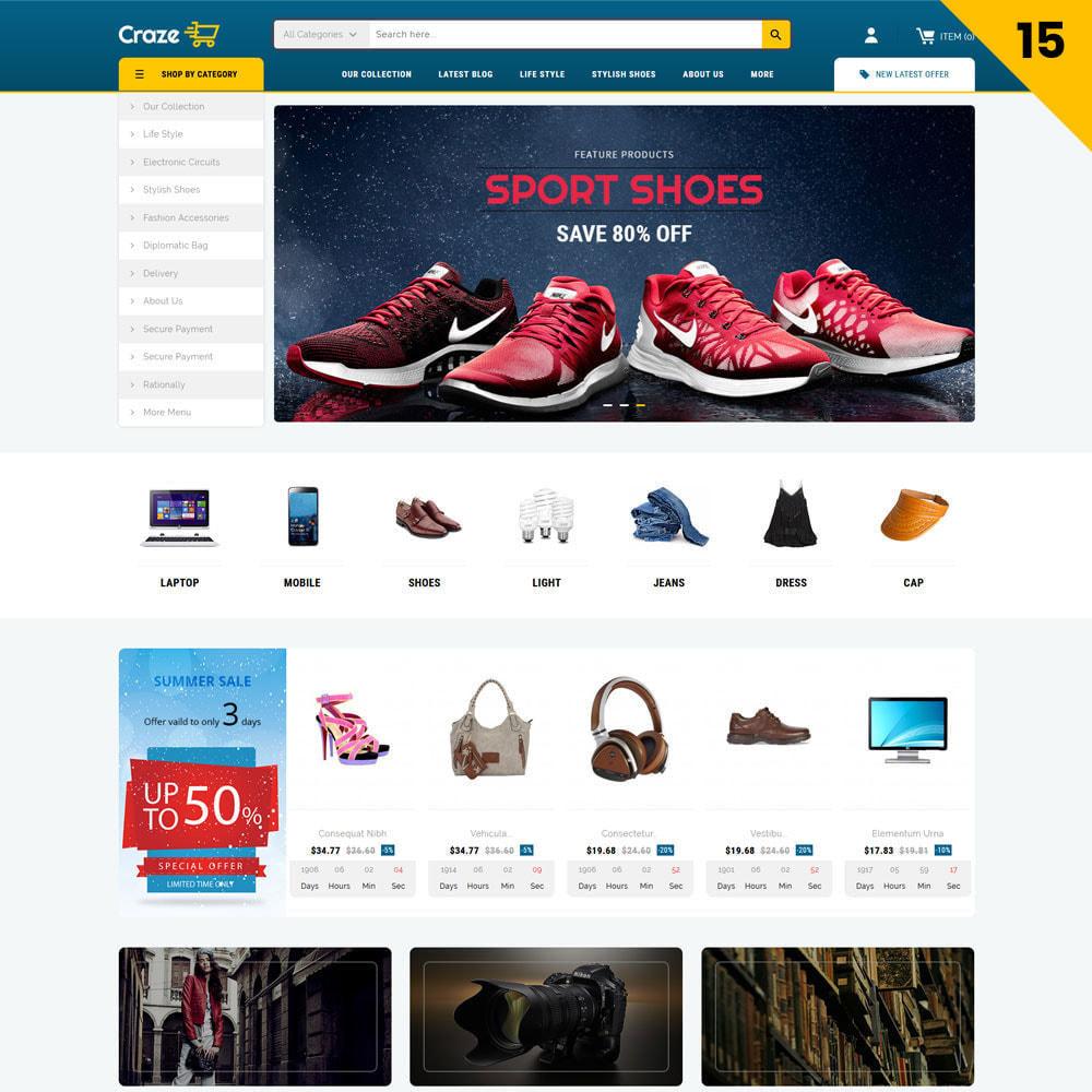theme - Moda & Calzature - Craze - Il negozio online multiuso - 18