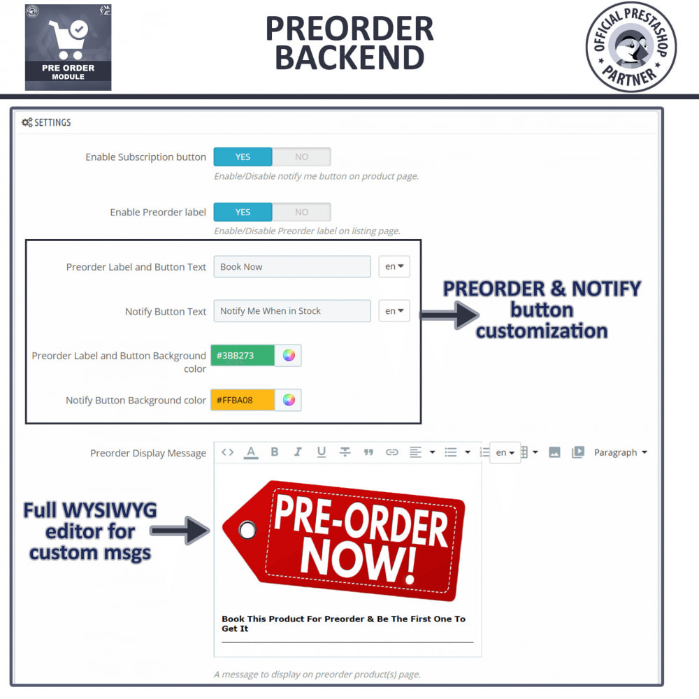 module - Registration & Ordering Process - Pre Order - Advance Booking - 10