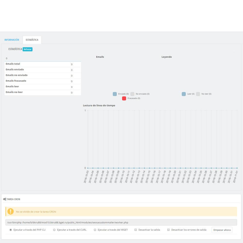 module - Newsletter y SMS - Custom Mailer SeoSA - De boletín de noticias - 18