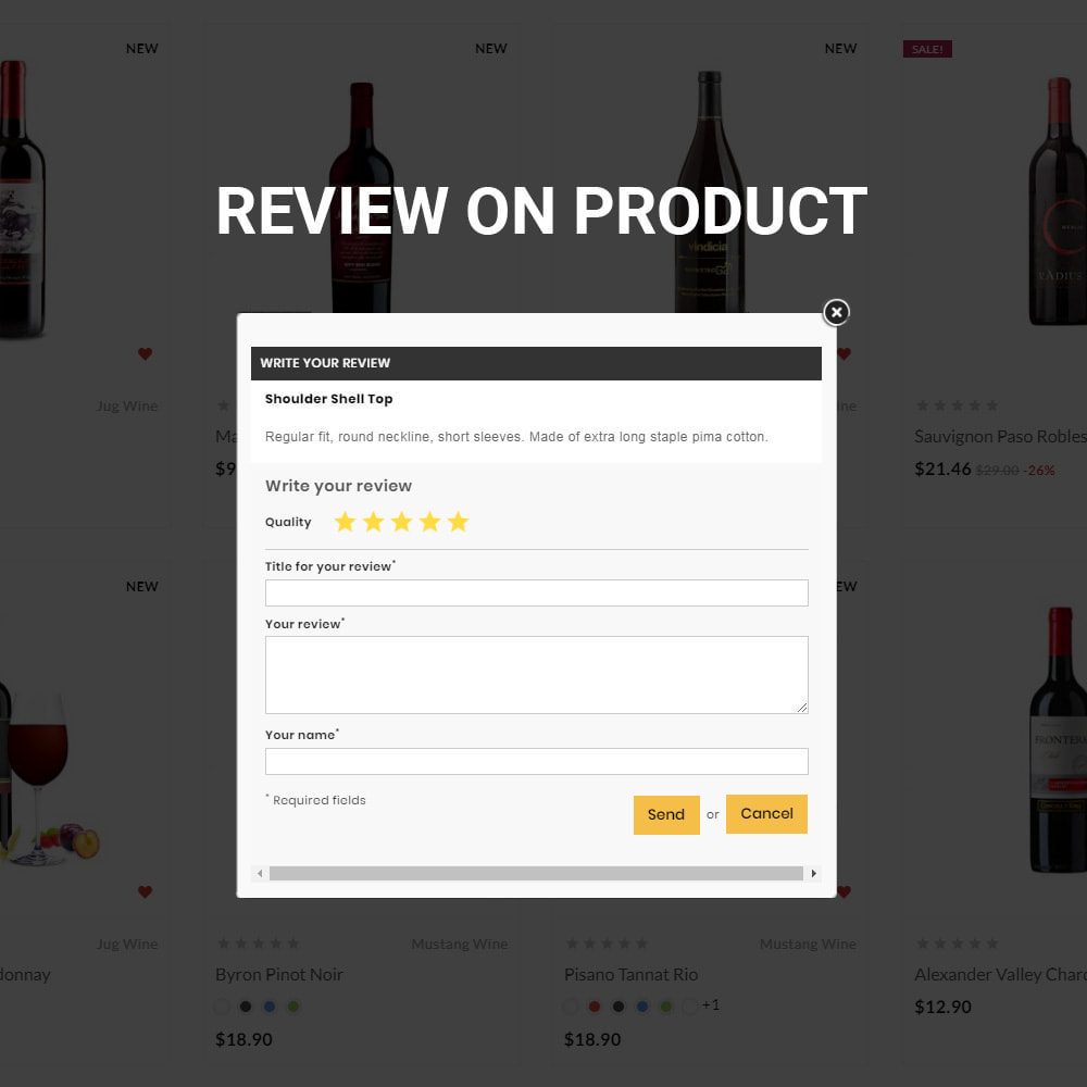 theme - Getränke & Tabak - The Wine Store – France Wine Shop - 9