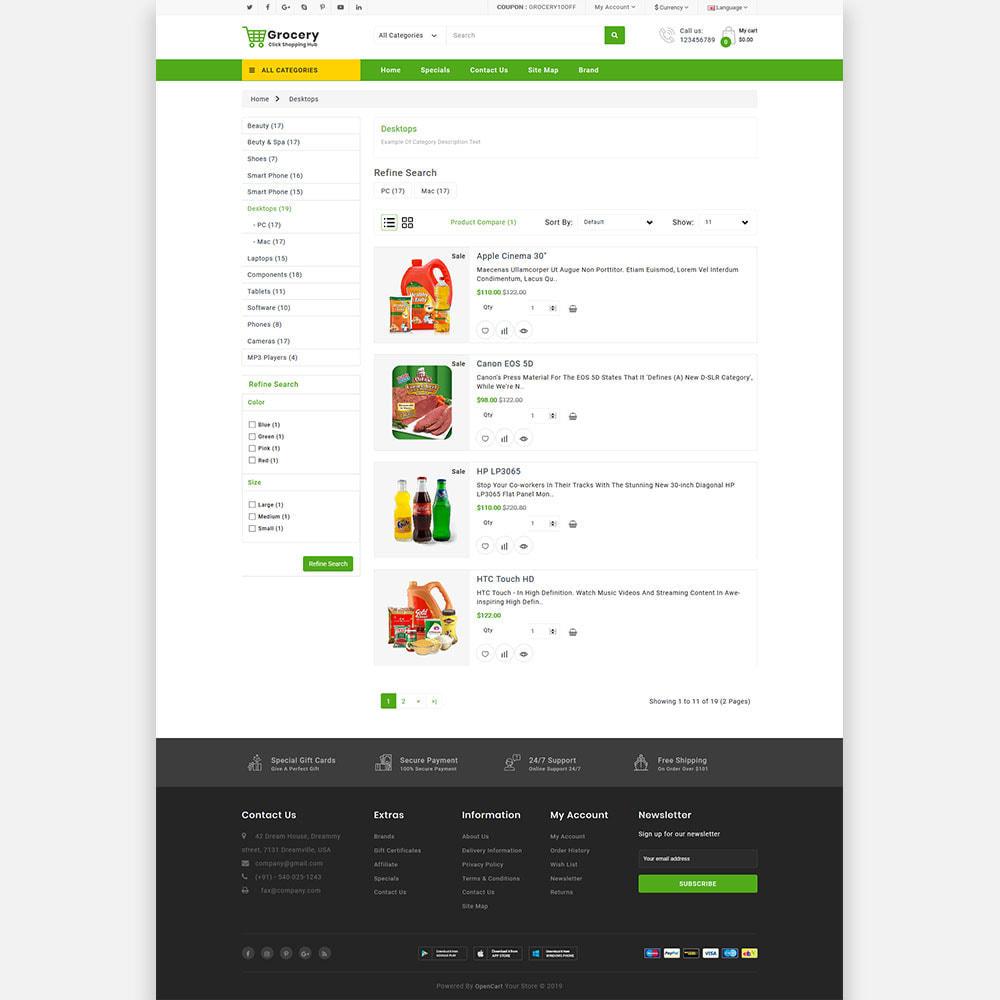 theme - Lebensmittel & Restaurants - Grocery Farm and Food shopping Store - 5