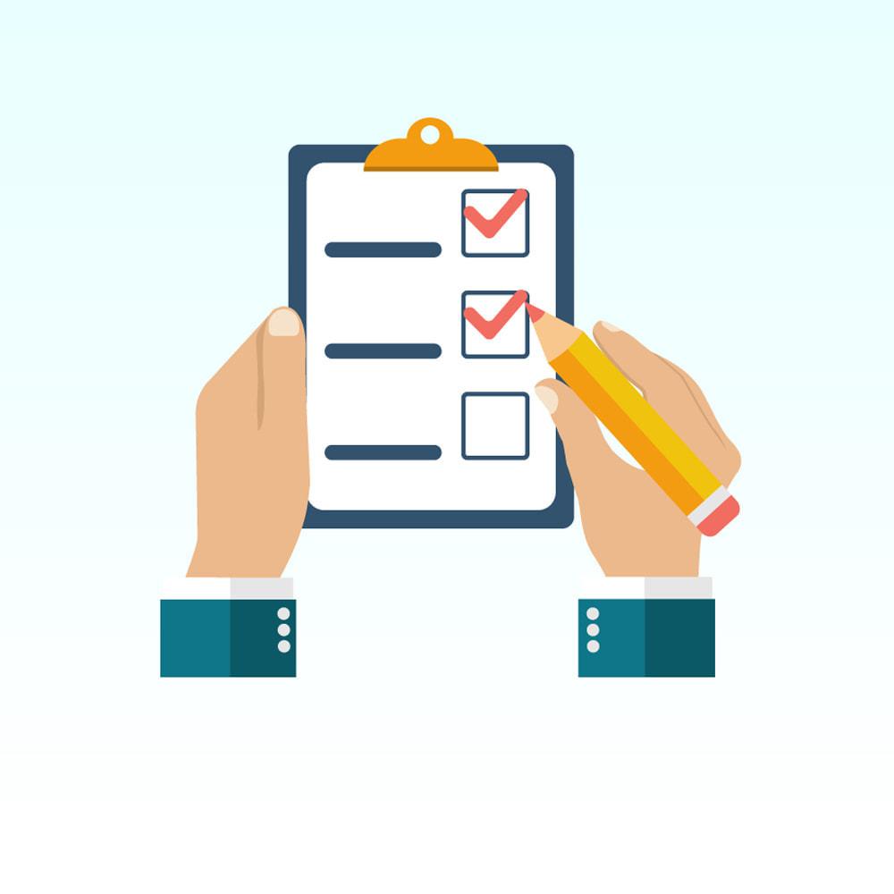 module - Форма обратной связи и Опросы - Формы опросов для пользователей - 1