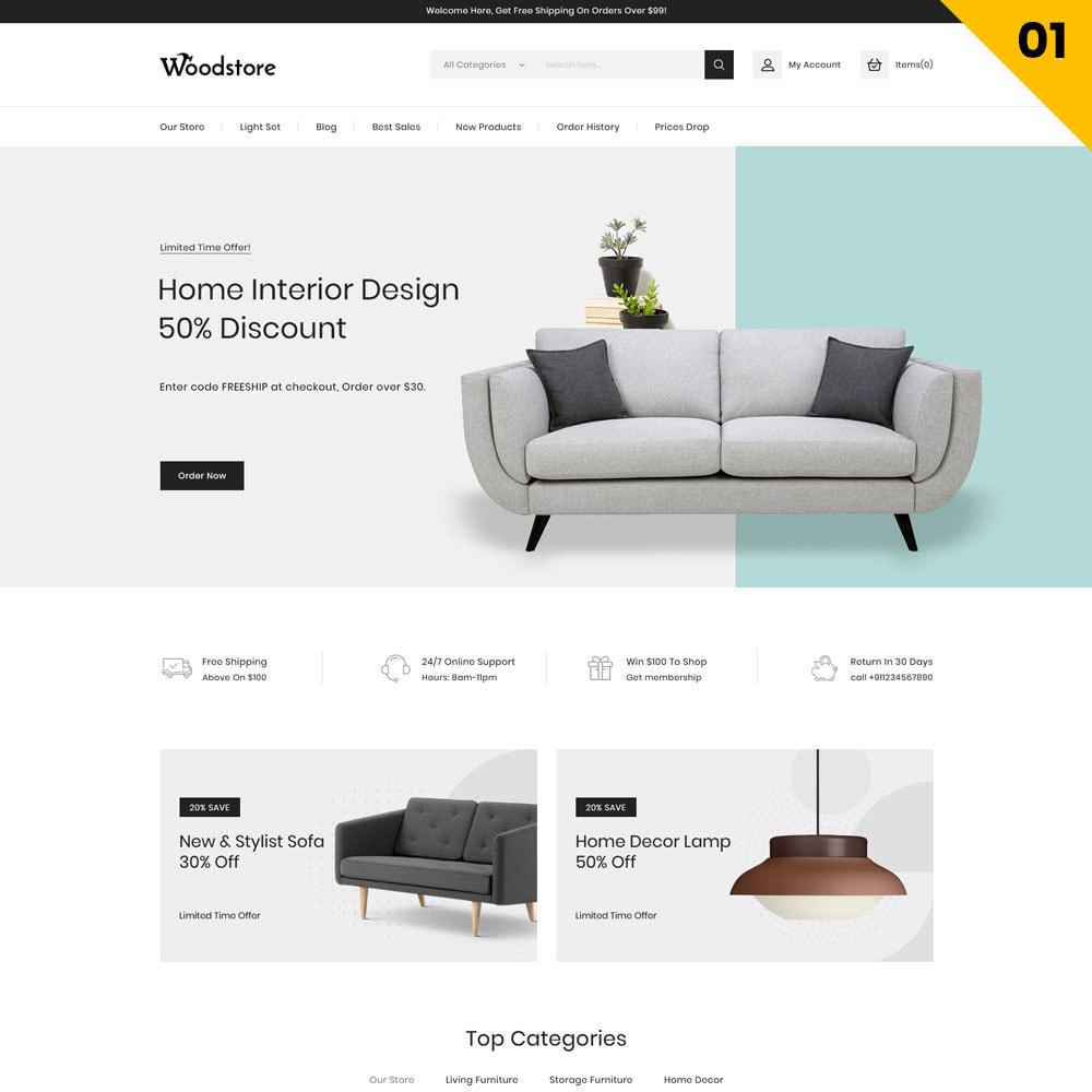 theme - Casa & Giardino - Wood - il negozio di mobili - 4