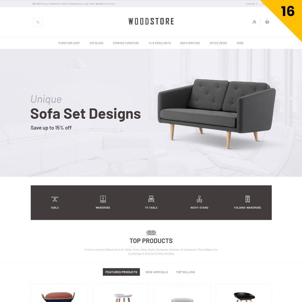 theme - Casa & Giardino - Wood - il negozio di mobili - 19