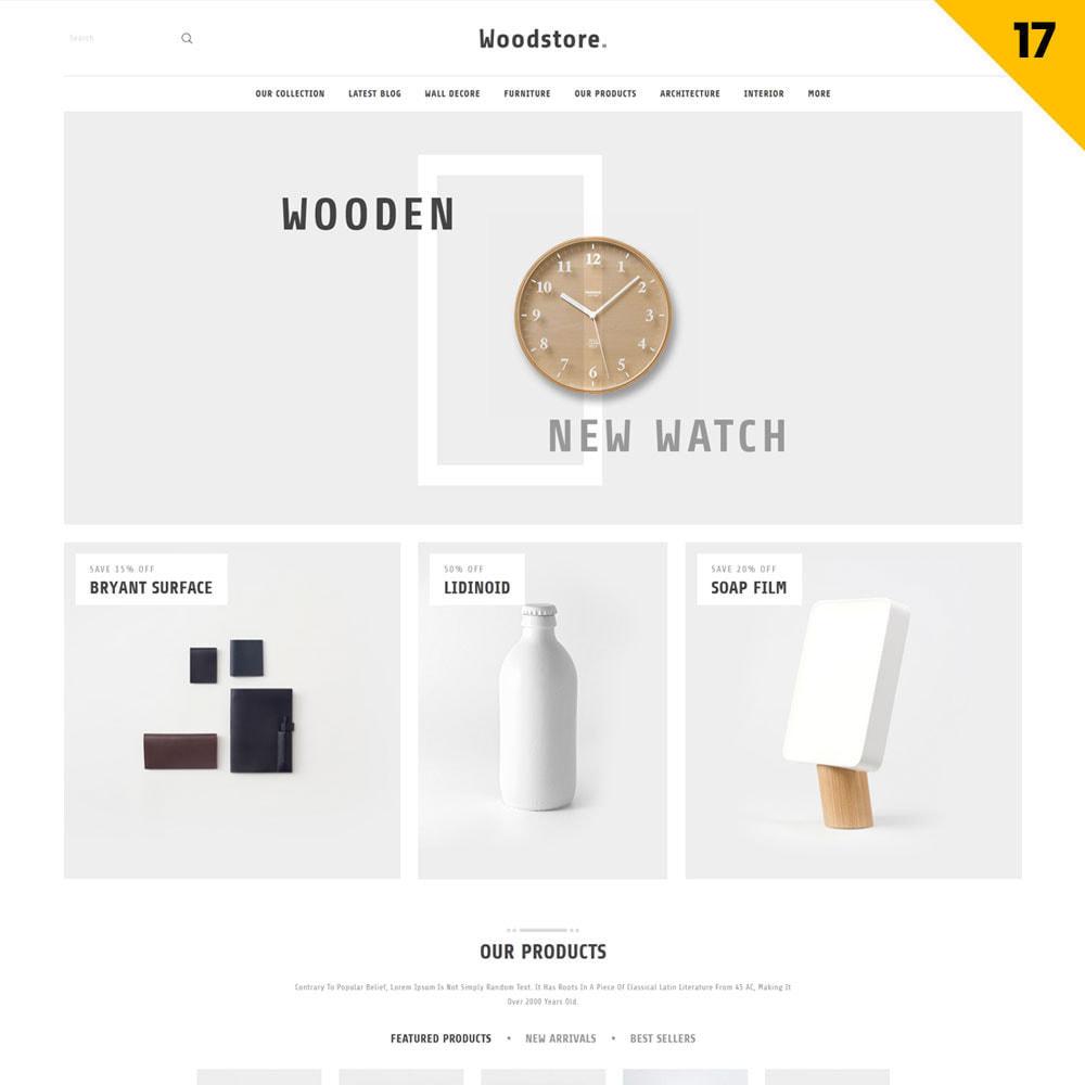 theme - Casa & Giardino - Wood - il negozio di mobili - 20