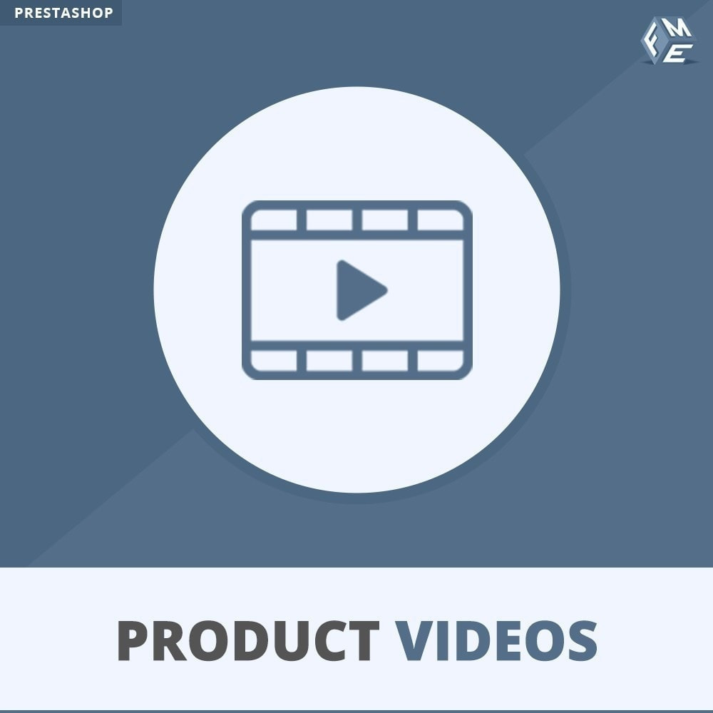 module - Video & Musica - Product Videos - Upload or Embed YouTube, Vimeo - 1
