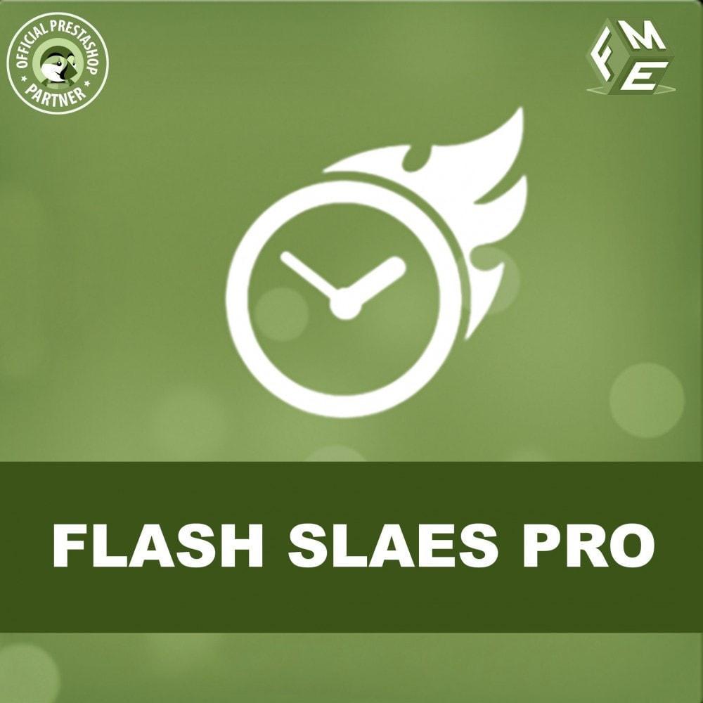 module - Ventes Flash & Ventes Privées - Flash Sales Pro - Remise avec compte à rebours - 1