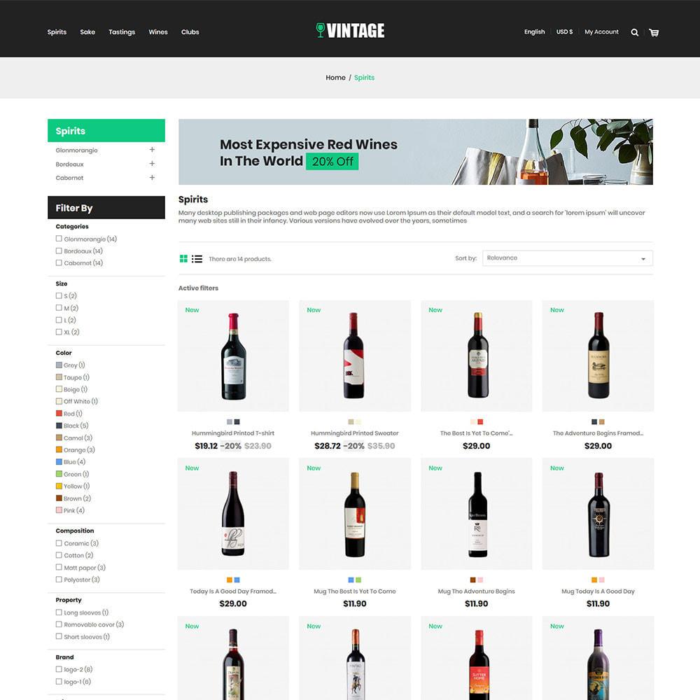 theme - Drink & Tobacco - Vintage Drink  Vigne  -  Beer Wine Store - 3