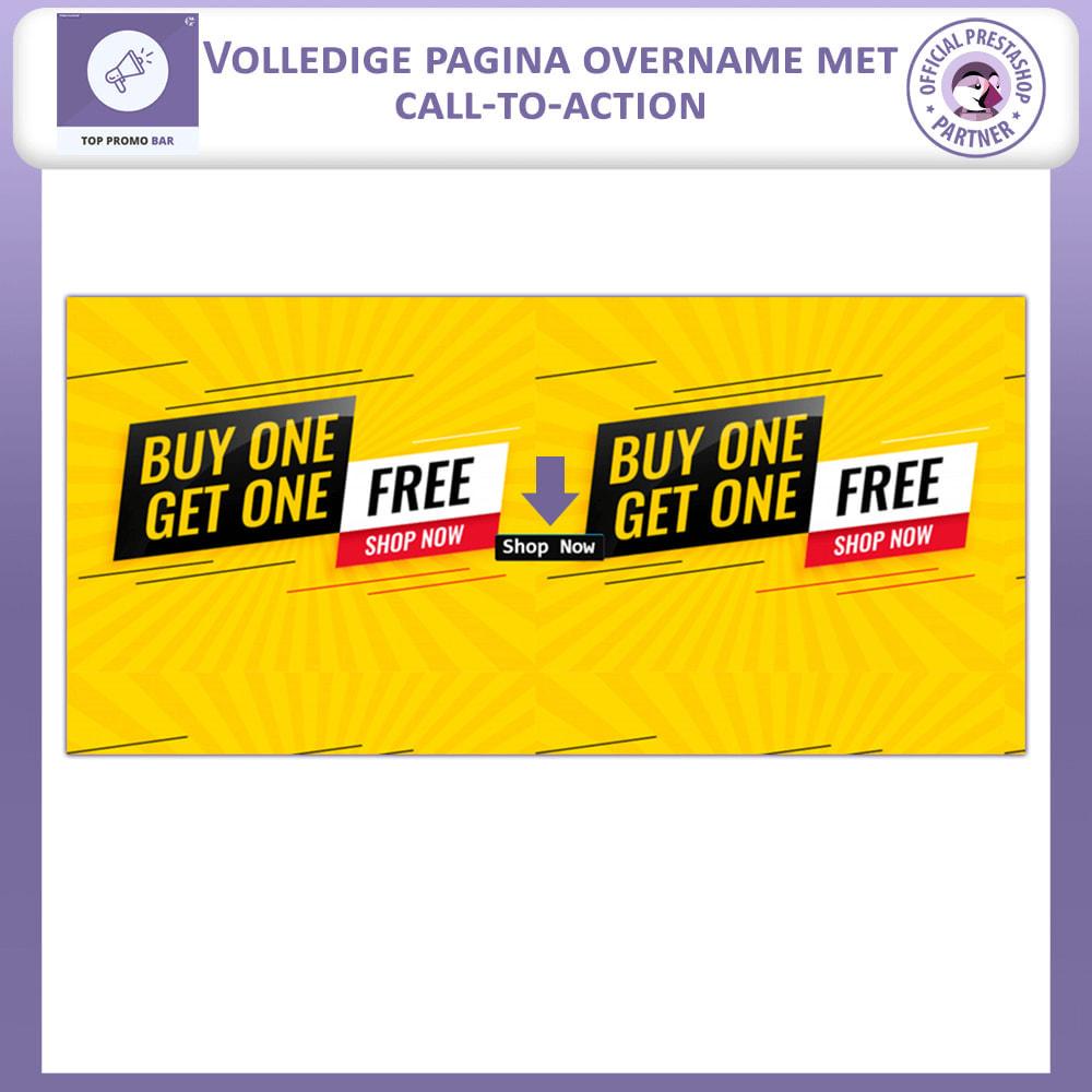 module - Blokken, Tabbladen & Banners - Bovenste Banner Vooruit - 2