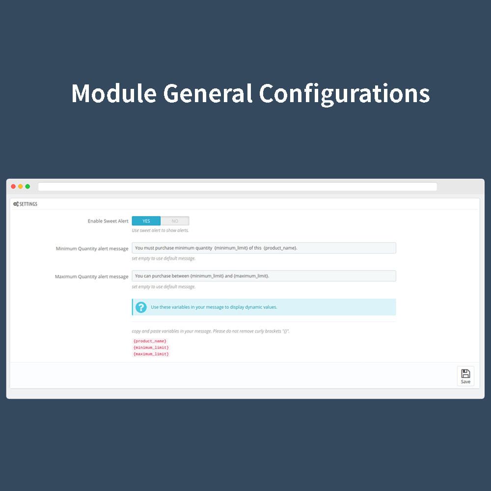 module - Iscrizione e Processo di ordinazione - Order Quantity Limit - 2