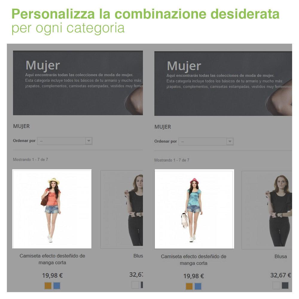 module - Combinazioni & Personalizzazione Prodotti - Combinazione di attributi personalizzati per categoria - 2