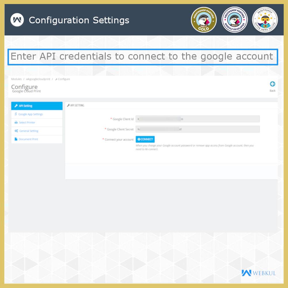 module - Kommissionierung & Versand - Google Cloud Print - 3