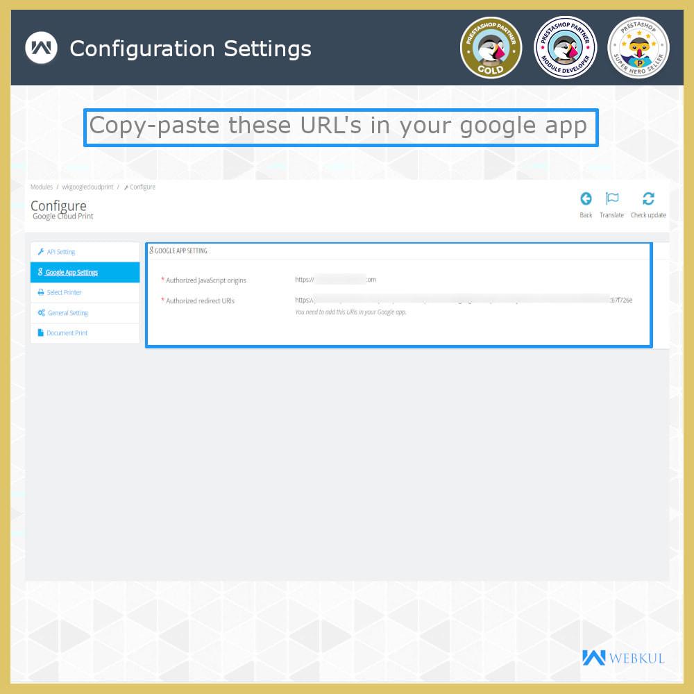 module - Kommissionierung & Versand - Google Cloud Print - 5