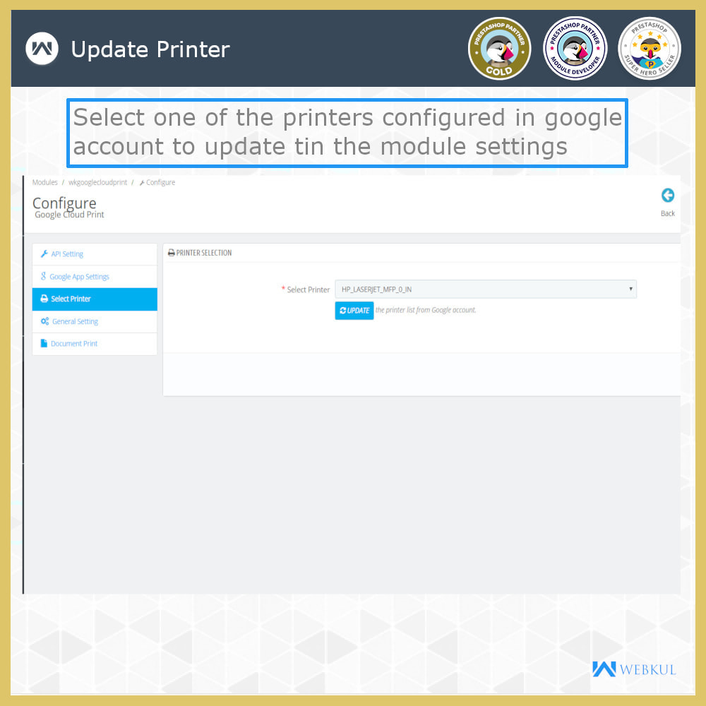 module - Kommissionierung & Versand - Google Cloud Print - 7
