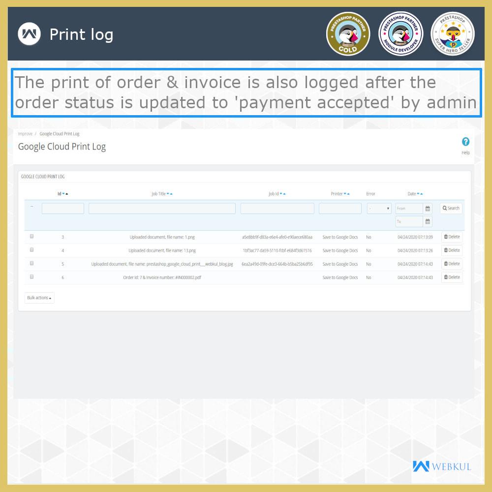 module - Kommissionierung & Versand - Google Cloud Print - 11