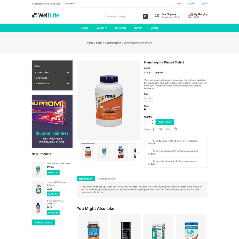 theme - Saúde & Beleza - Well Life - Medicine Medical  Drug  Pharmacy Store - 5
