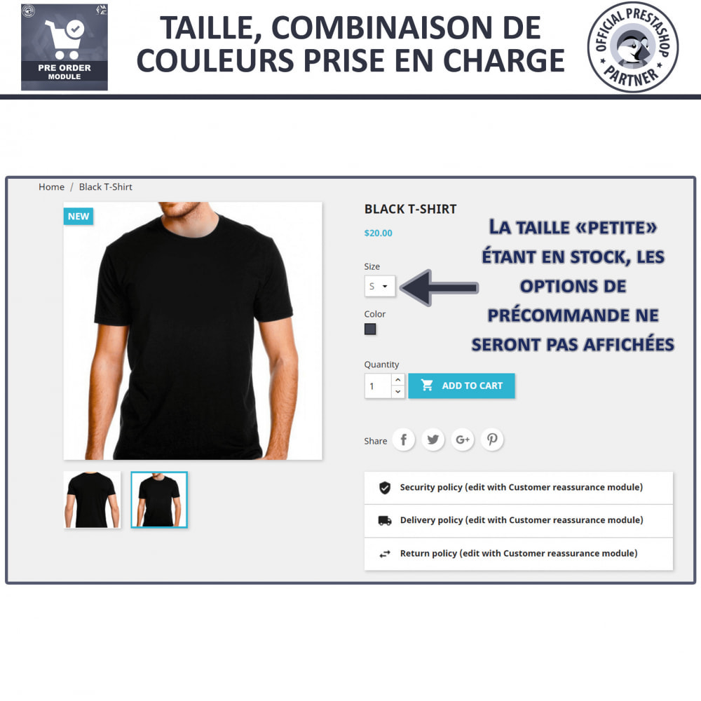 module - Inscription & Processus de commande - Pre Order & Waiting List Notification - 6